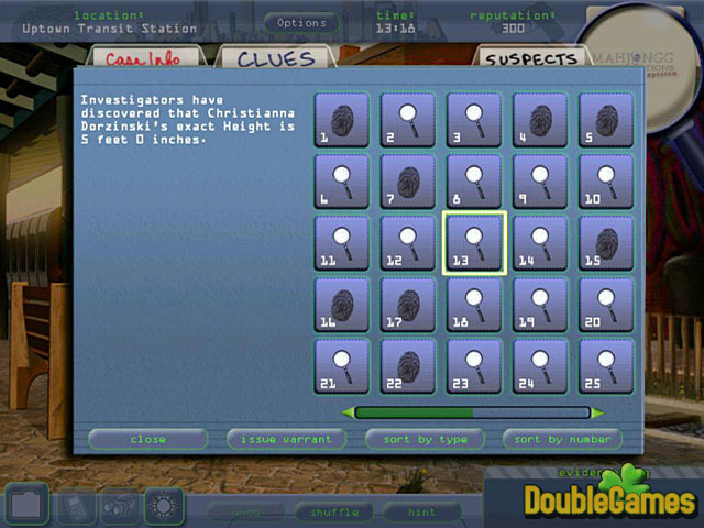 Free Download Mahjongg Investigations: Under Suspicion Screenshot 3