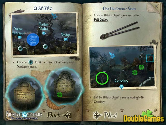 Free Download Midnight Mysteries 2: The Salem Witch Trials Strategy Guide Screenshot 1