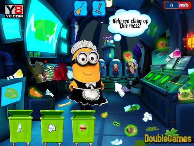Free Download Minion Laboratory Cleaning Screenshot 1