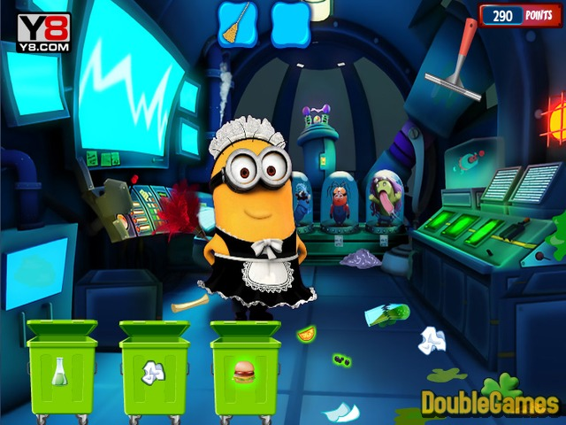 Free Download Minion Laboratory Cleaning Screenshot 2