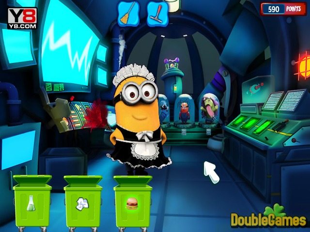 Free Download Minion Laboratory Cleaning Screenshot 3
