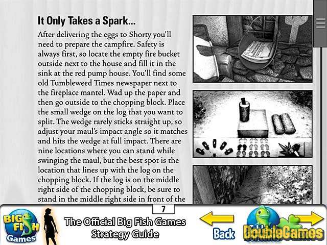 Screenshot descargo de Nancy Drew: Secret of Shadow Ranch Strategy Guide 3