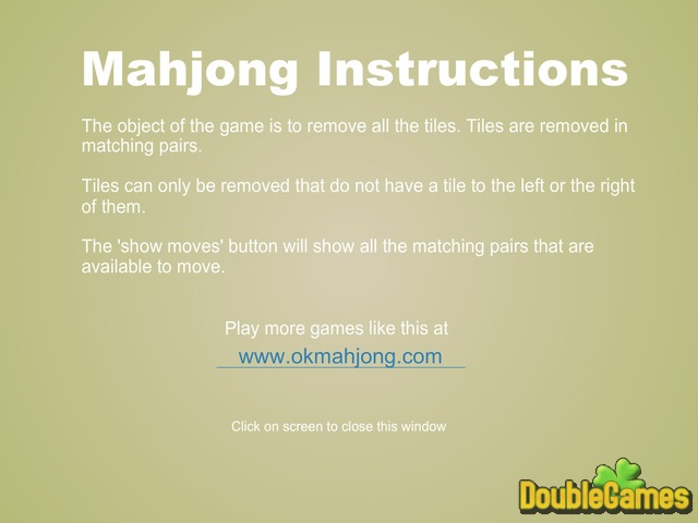 Free Download Ok Mahjong 2 Screenshot 2