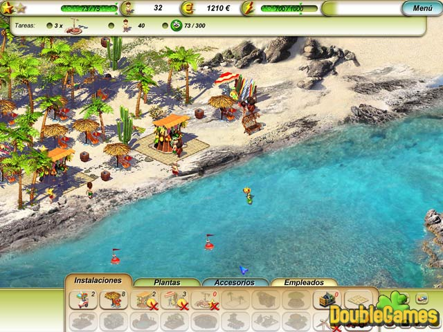 Free Download Paradise Beach Screenshot 2