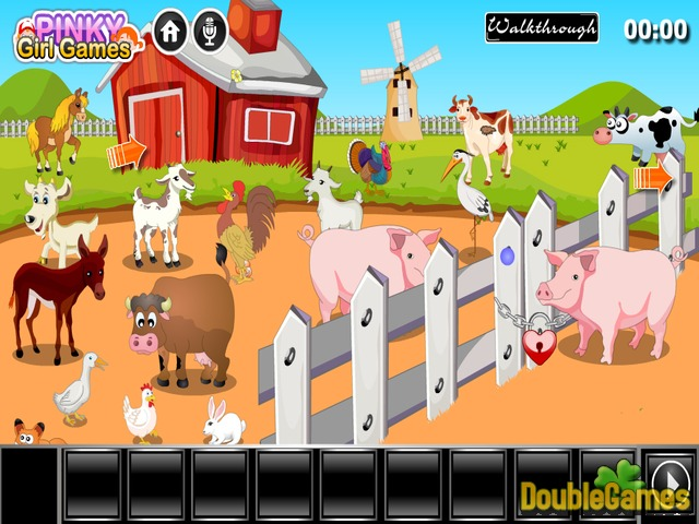 Free Download Pig Escape From Farm Screenshot 1