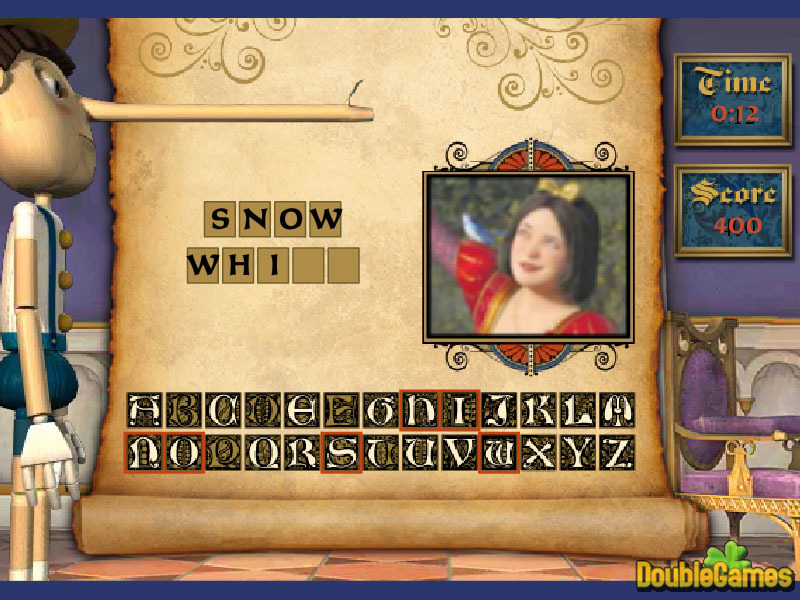 Free Download Pinocchio Names Screenshot 2