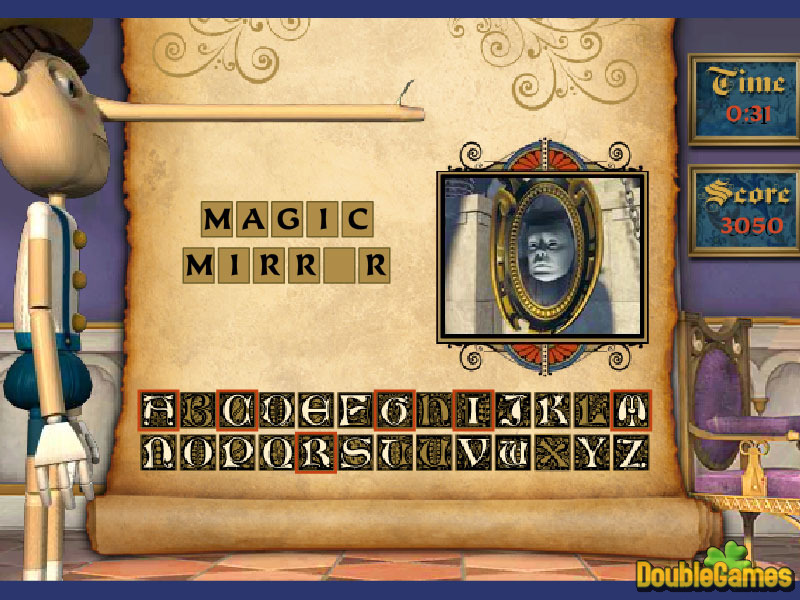 Free Download Pinocchio Names Screenshot 3