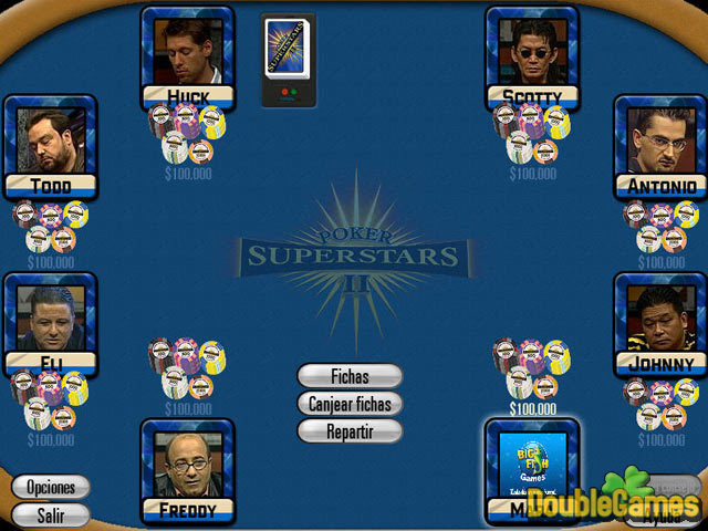 Screenshot descargo de Poker Superstars II 1