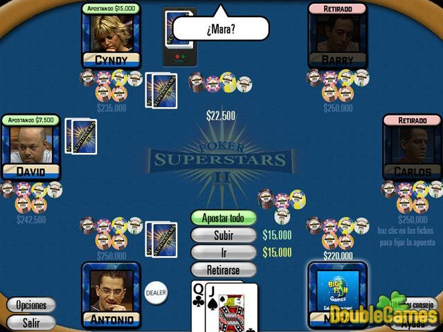 Screenshot descargo de Poker Superstars II 2