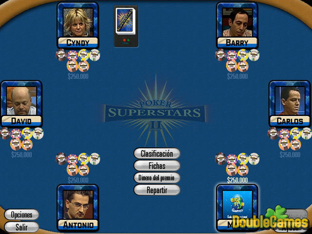 Screenshot descargo de Poker Superstars II 3
