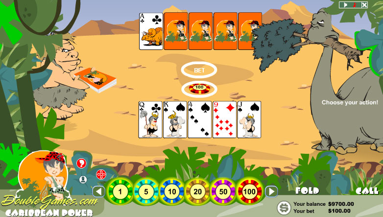 Free Download Prehistoric Caribbean Poker Screenshot 3