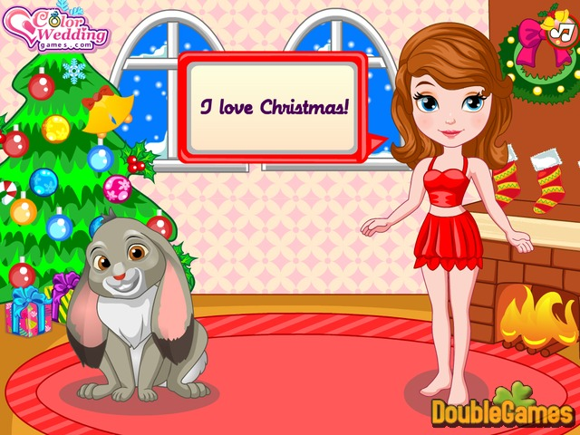Screenshot descargo de Princess Sofia Christmas Dressup 1