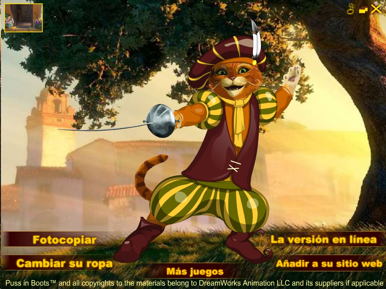 El gato con botas Juego de Vesti Game Download for PC