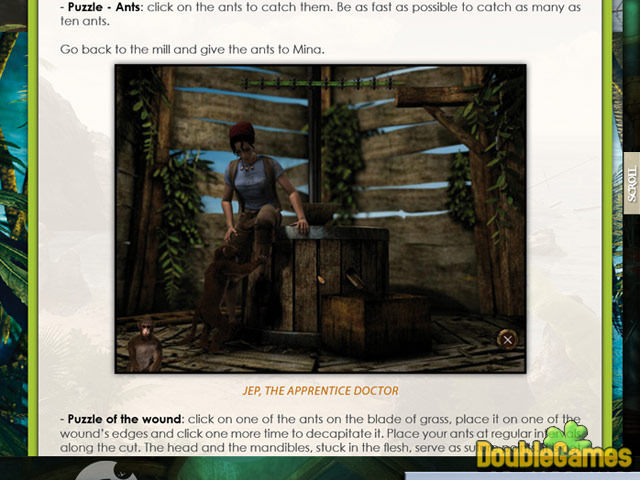Free Download Return to Mysterious Island 2: Mina's Fate Strategy Guide Screenshot 1