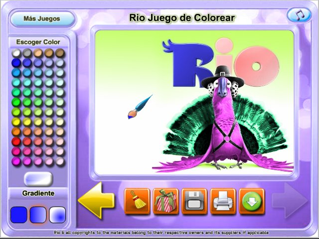 Rio Juego De Colorear Game Download For Pc And Mac