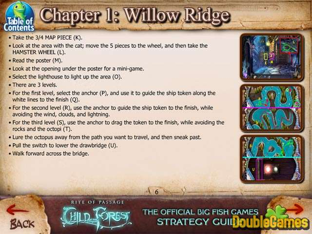 Free Download Rite of Passage: Child of the Forest Strategy Guide Screenshot 1