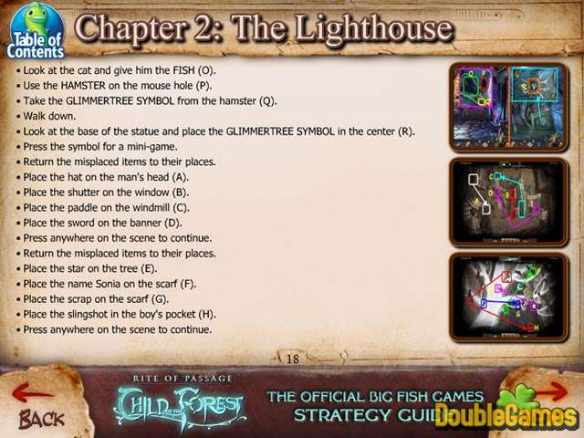 Free Download Rite of Passage: Child of the Forest Strategy Guide Screenshot 3