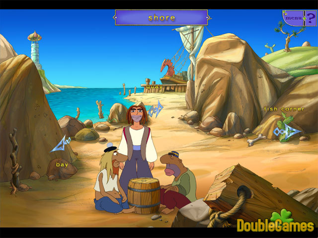 Free Download Sinbad: In search of Magic Ginger Screenshot 2