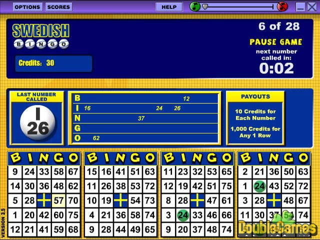 Screenshot descargo de Slingo Casino Pak 3