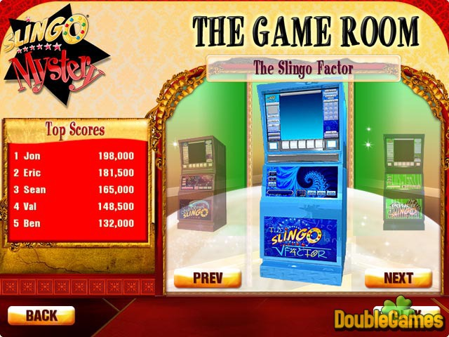 Free Download Slingo Mystery: Who's Gold Screenshot 2