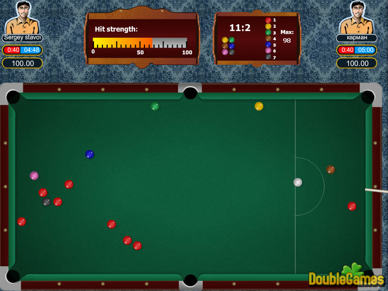 Screenshot descargo de Snooker 2