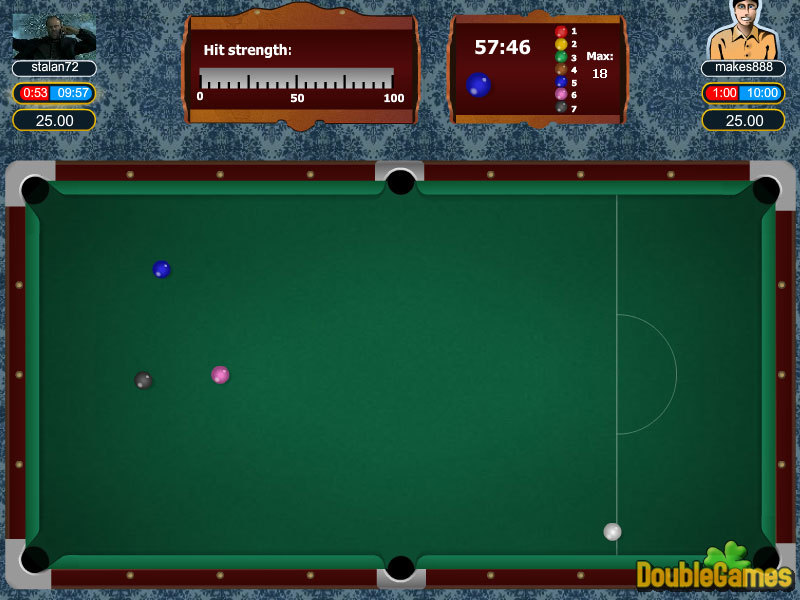 Screenshot descargo de Snooker 3