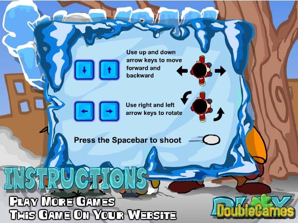 Free Download Snow Ball Warrior Screenshot 1