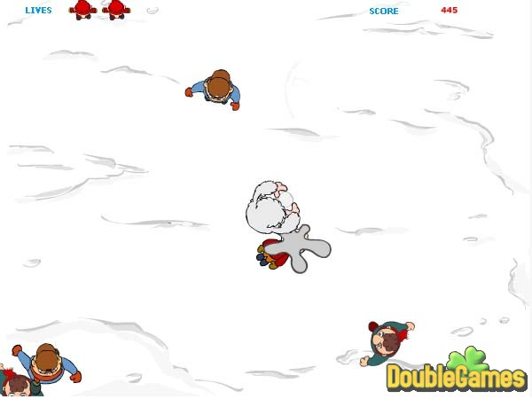 Free Download Snow Ball Warrior Screenshot 3