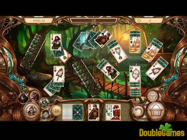 Free Download Snow White Solitaire: Charmed kingdom Screenshot 2