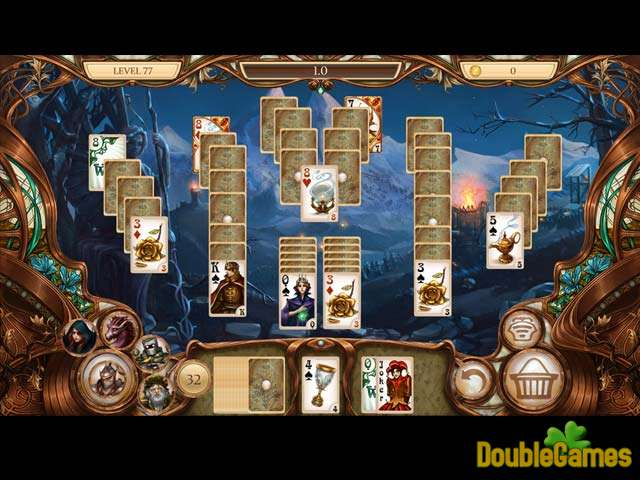 Free Download Snow White Solitaire: Charmed kingdom Screenshot 3