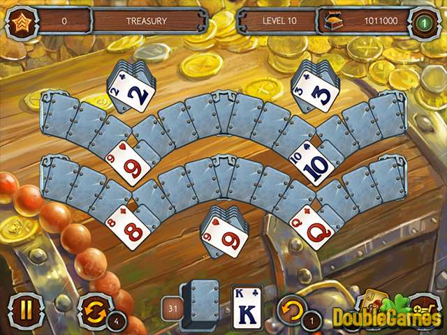 Free Download Solitaire Legend Of The Pirates 3 Screenshot 2