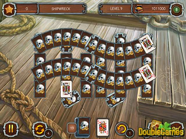 Free Download Solitaire Legend Of The Pirates 3 Screenshot 3