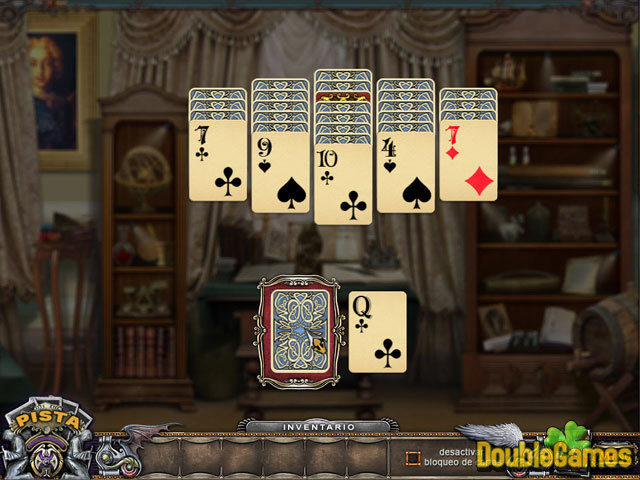 Free Download Solitaire Mystery: Stolen Power Screenshot 1