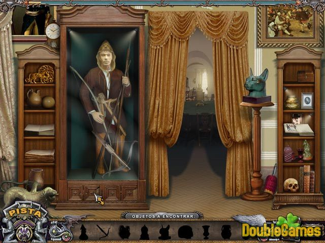 Free Download Solitaire Mystery: Stolen Power Screenshot 2