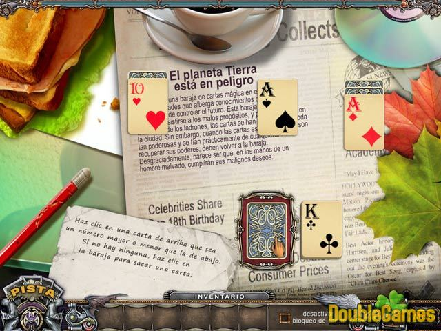 Free Download Solitaire Mystery: Stolen Power Screenshot 3
