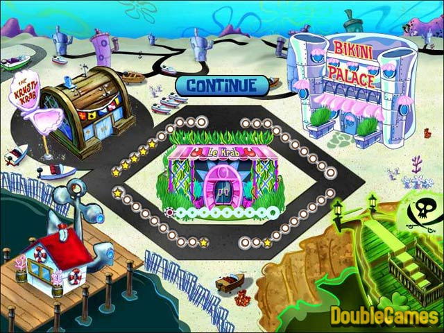 Free Download SpongeBob SquarePants Diner Dash Screenshot 2
