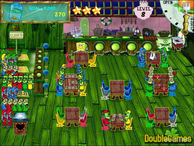 Free Download SpongeBob SquarePants Diner Dash Screenshot 3