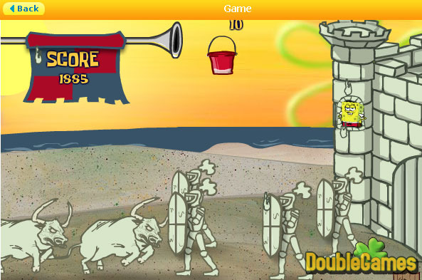 Screenshot descargo de SpongeBob SquarePants: Sand Castle Hassle 1