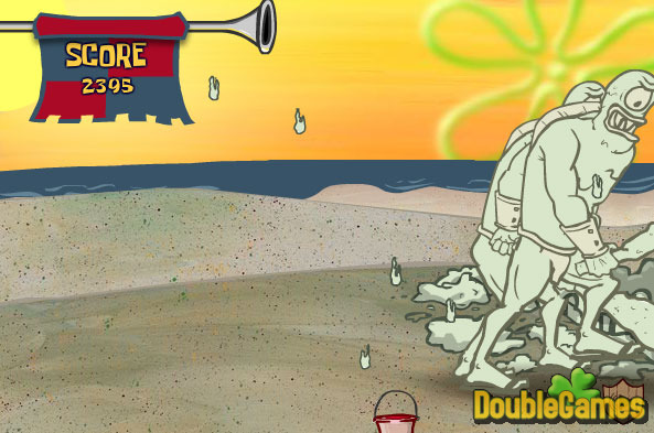 Screenshot descargo de SpongeBob SquarePants: Sand Castle Hassle 3