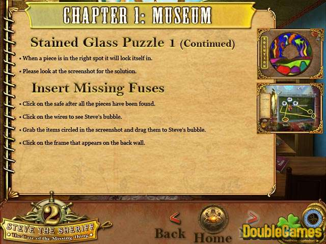 Free Download Steve the Sheriff 2: The Case of the Missing Thing Strategy Guide Screenshot 1