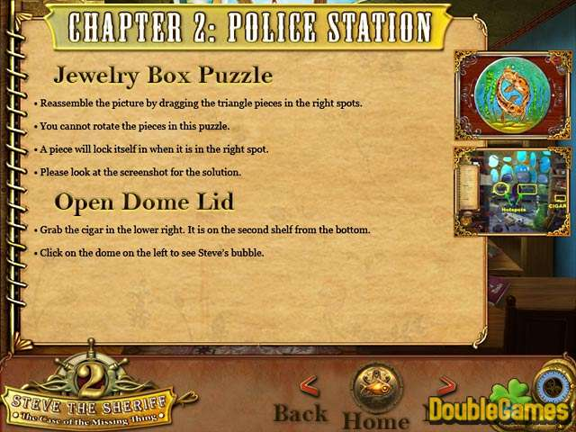 Free Download Steve the Sheriff 2: The Case of the Missing Thing Strategy Guide Screenshot 2