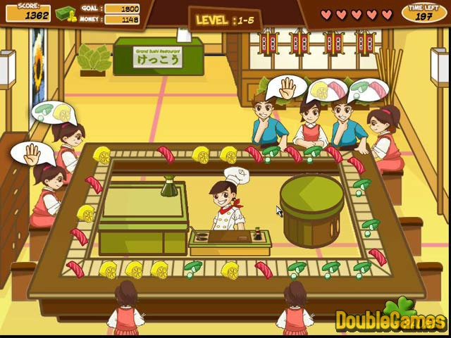 Free Download Sushi Frenzy Screenshot 1