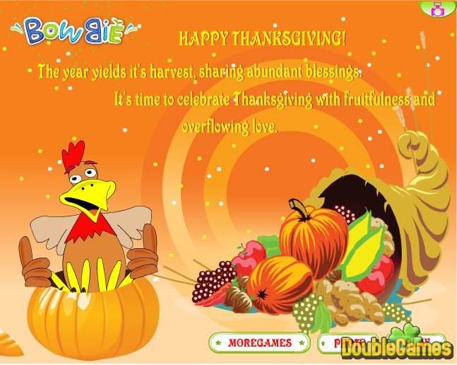 Free Download Thanksgiving Day 2010 Screenshot 1
