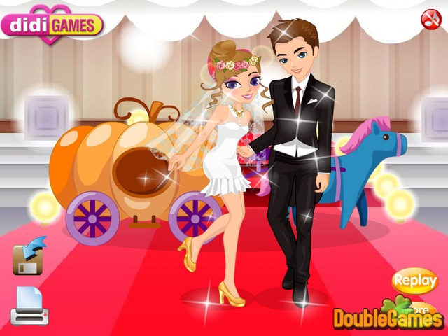 Screenshot descargo de The Carriage Wedding DressUp 3