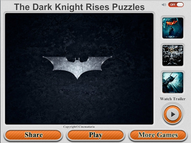 Free Download The Dark Knight Rises Puzzles Screenshot 1