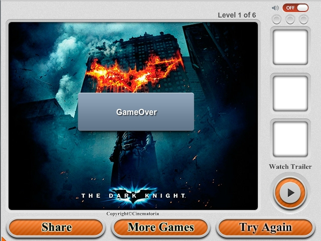 Free Download The Dark Knight Rises Puzzles Screenshot 3