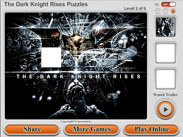 Free Download The Dark Knight Rises Puzzles Screenshot 4
