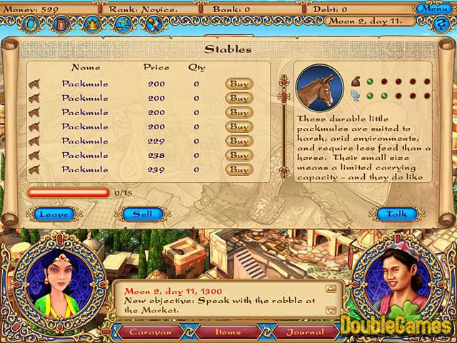 Screenshot descargo de Tradewinds Caravans 2