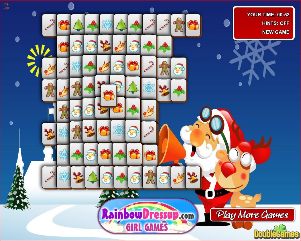 Free Download Xmas Mahjong Screenshot 1