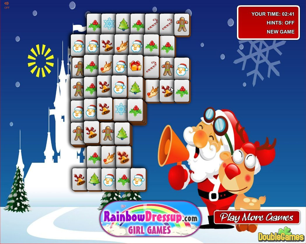 Free Download Xmas Mahjong Screenshot 2